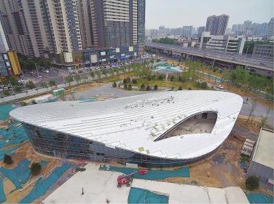 郑州的孩子们有福了 即将开放的青少年公园比想象中更潮更得劲