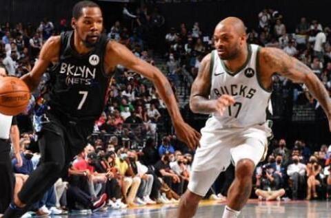 杜兰特一根脚趾踩线让篮网惜败雄鹿,抢七得分打破NBA历史记录!