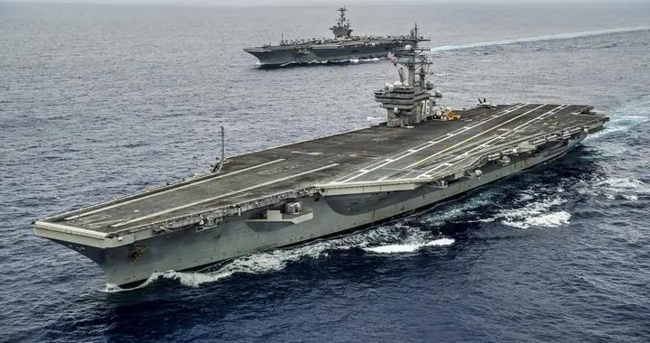 """美印在印度洋军演 美海军出动""""里根""""号航母打击群"""