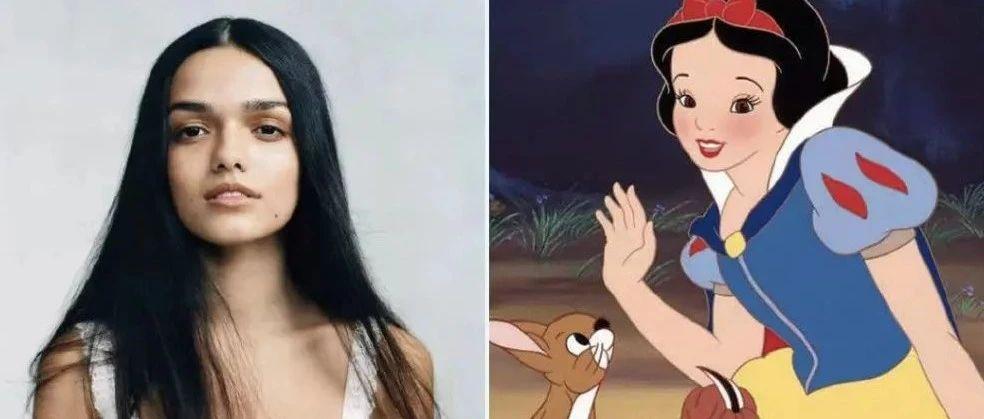 """迪士尼选的真人版白雪公主引群嘲…网友""""白雪公主的脸,怎么比我还黑?"""""""