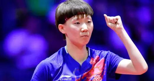王曼昱获得重用:奥运热身赛取代刘诗雯,参加团体首轮战斗
