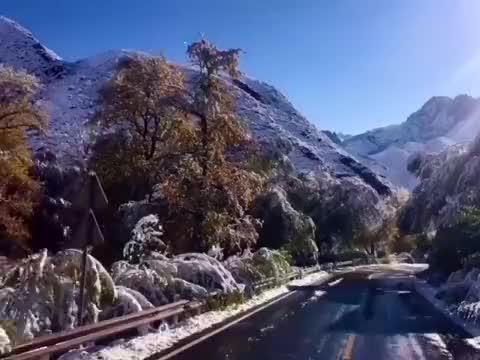 天山幽谷里的神秘天池,新疆的避暑胜地,大自然独具匠心的杰作