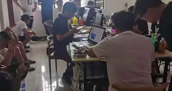 射阳警方打掉一个网上交友诈骗团伙抓获犯罪嫌疑人13名