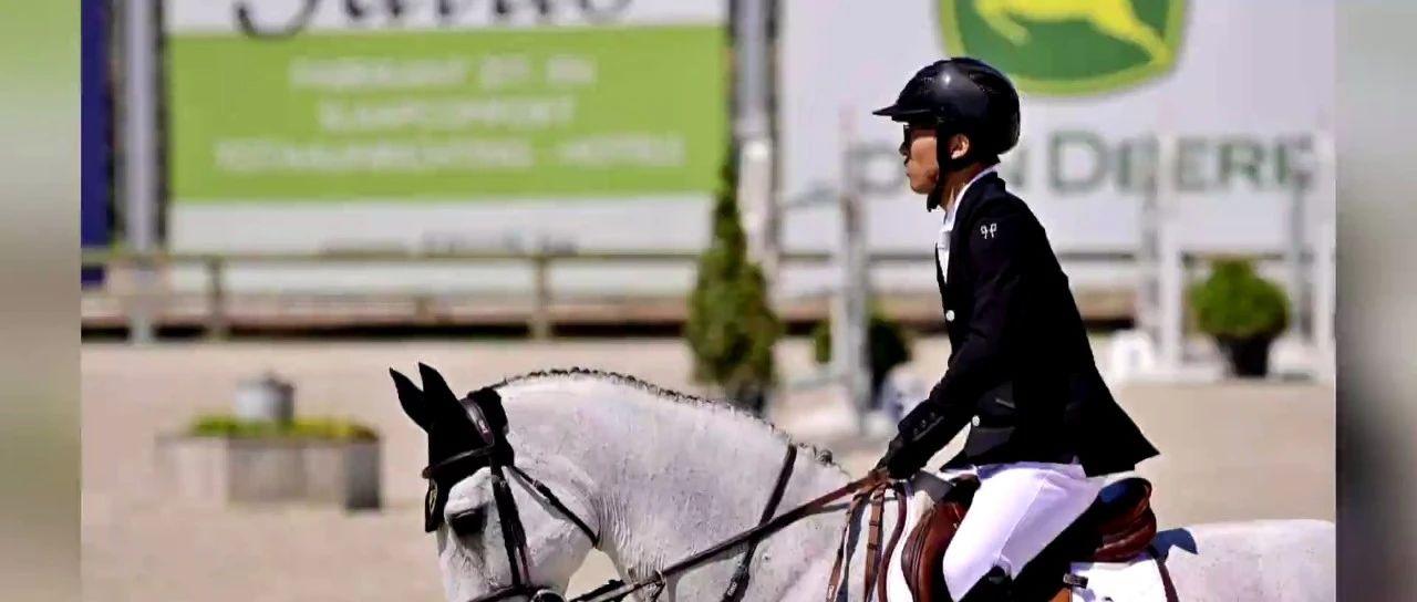 """浙江马术选手首次""""骑""""进奥运会!年仅22岁,未来希望......"""