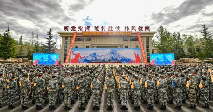 西藏军区练兵活动全方位检验和提高部队能力素质