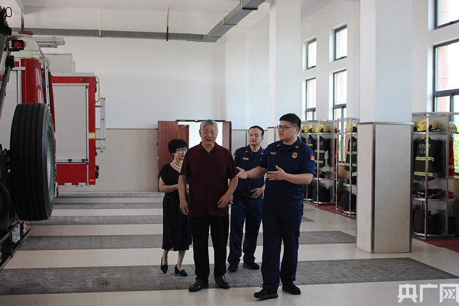 """宁波镇海消防救援大队三代党员话""""初心"""""""