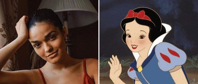 棕皮拉丁妹演真人版白雪公主,迪士尼被骂毁童年,全球网友气炸!