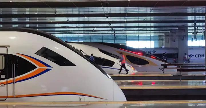郑州到西安上新复兴号智能动车组