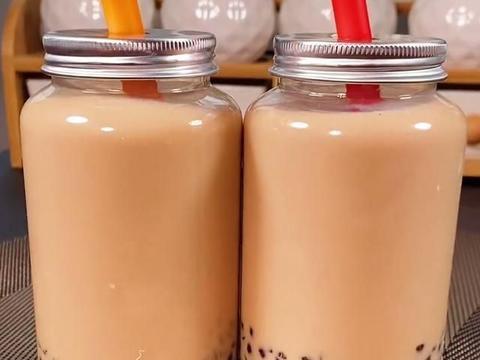 不用再去奶茶店了 教你在家自己做琥珀西米奶茶
