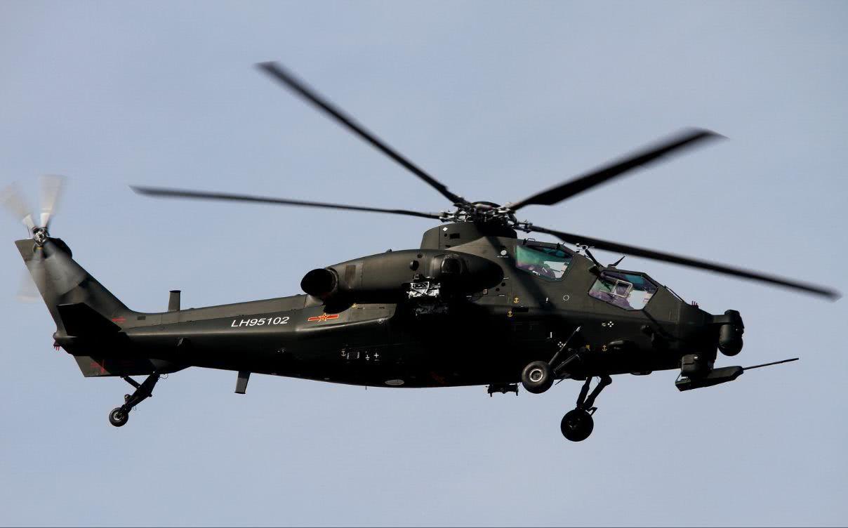 武直-10出现最新改进型:防护力再提升 添干扰设备