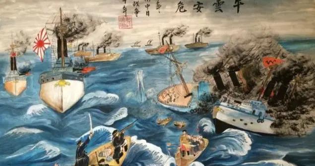 甲午战争,小日本胖揍腐败大清