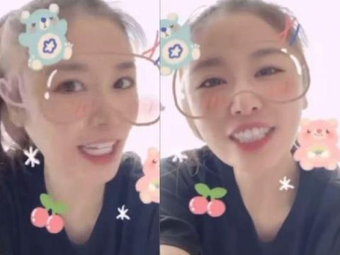 林心如发布为好朋友陈美凤庆生视频,笑容十分甜美