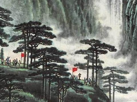 1.38亿成交,李可染是怎么画出《井冈山》的?画里的山水有多壮丽