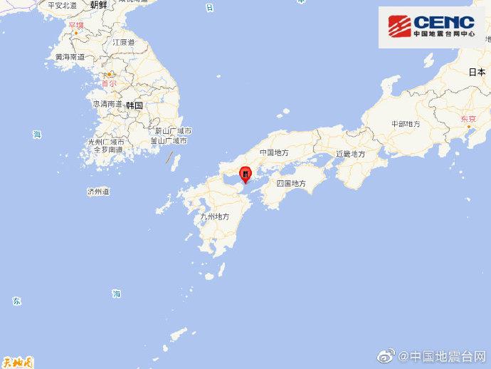 图片来源:中国地震台网官方微博