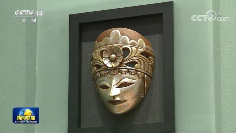 △印度尼西亚前总统苏西洛赠送的传统面具