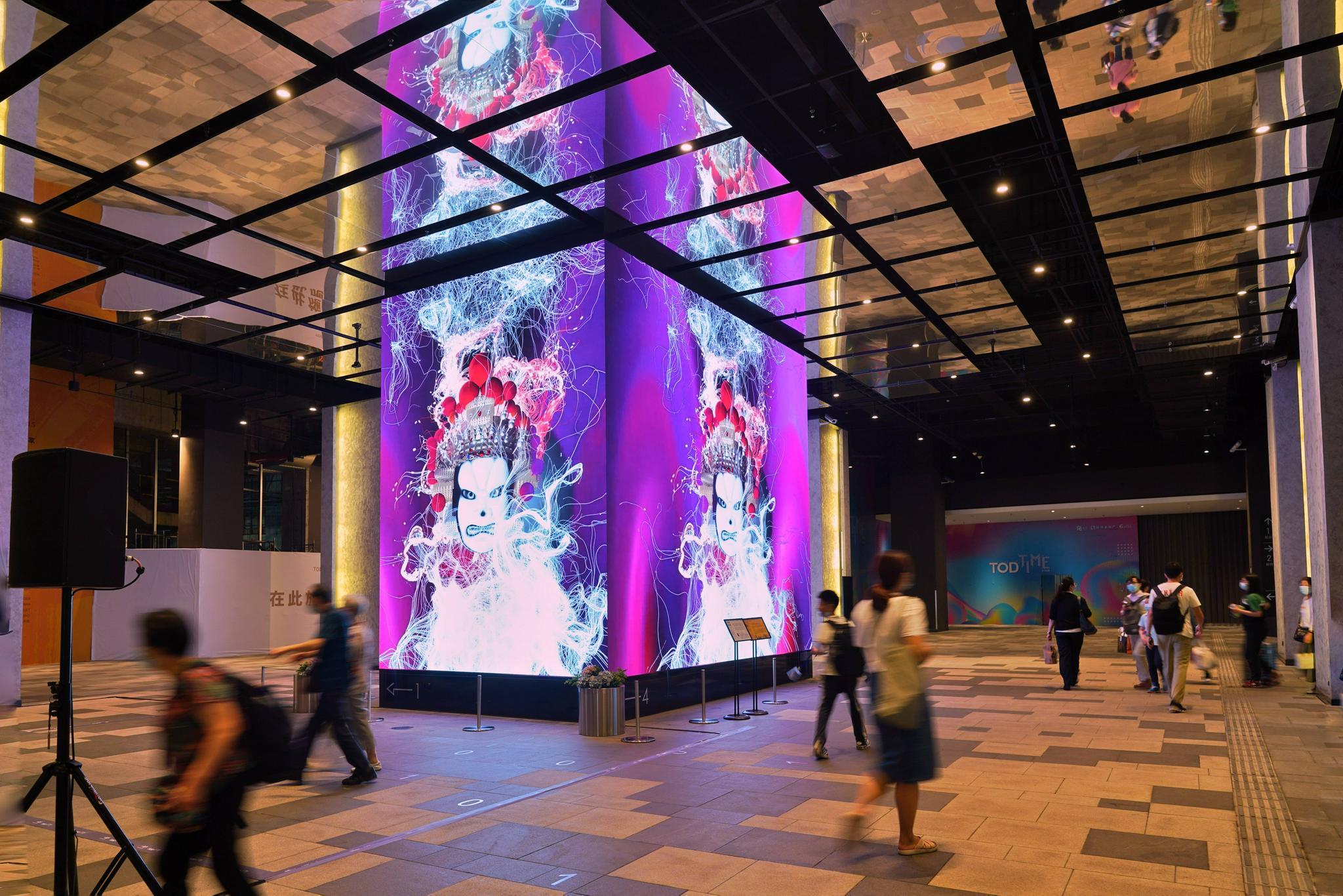 威尼斯双年展参展作品《中华武魂》登陆TODTIME时间廊