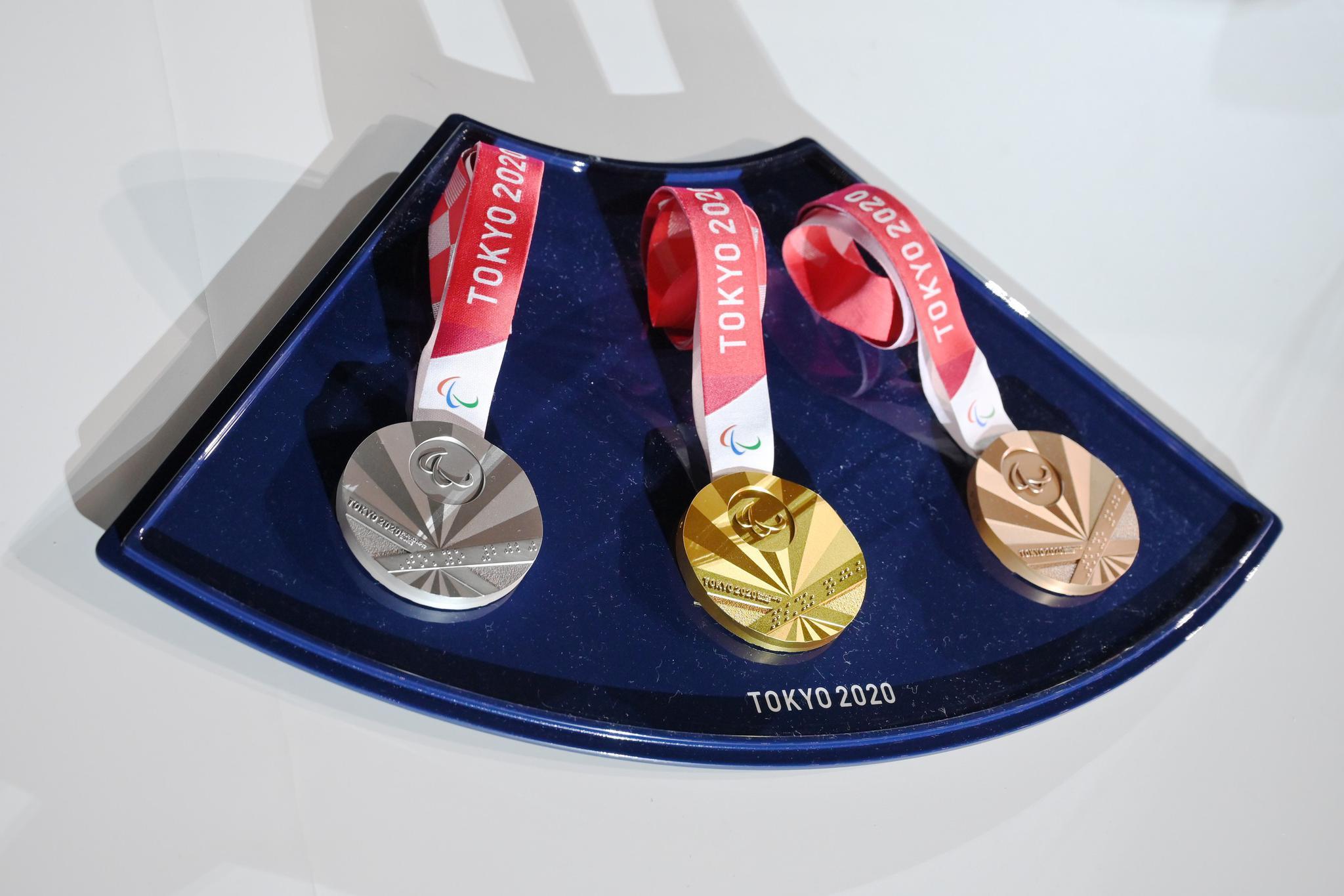 奥运奖牌。