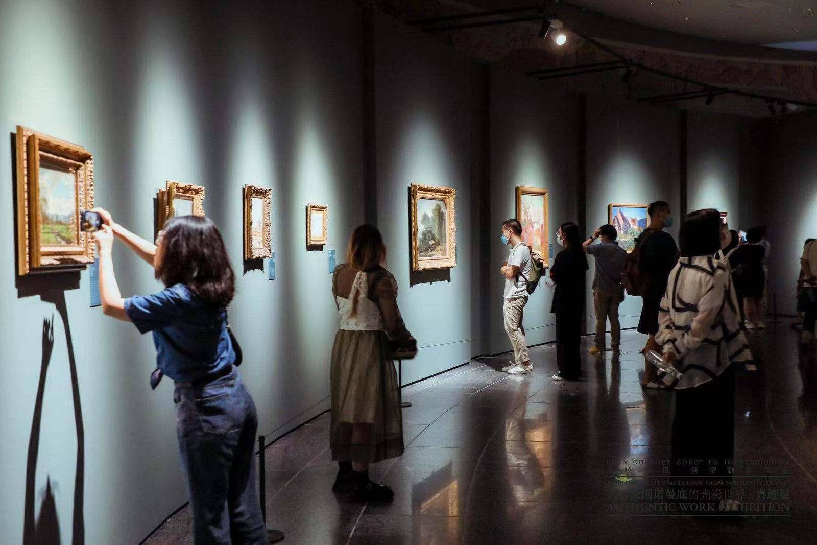 """莫奈、库尔贝等36位画家61幅真迹""""登陆""""中华世纪坛"""