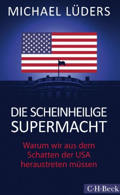 《伪圣美国》一书的封面 图源:央视新闻客户端