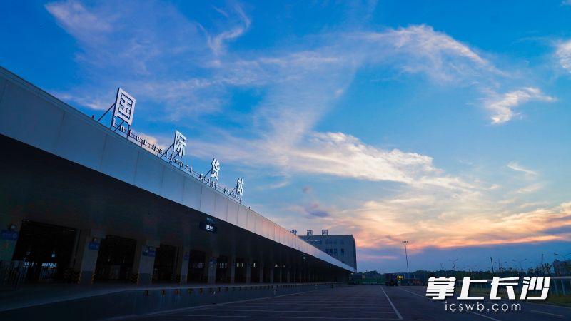 黄花机场3号(国际)货站投产启用 长沙国际航空货运增量扩容