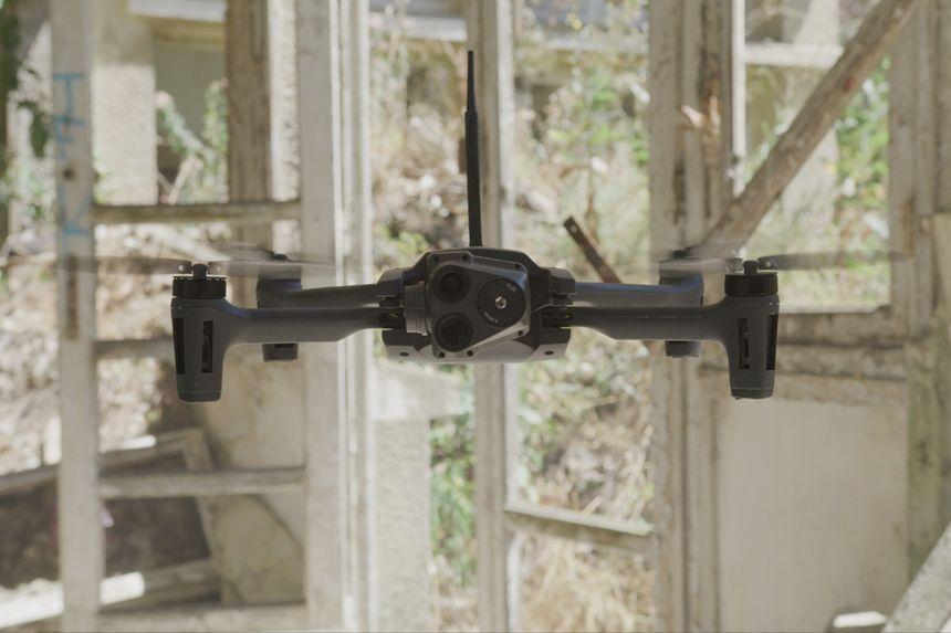 中标五角大楼项目的法国无人机公司Parrot SA产品 图自:Parrot 官网