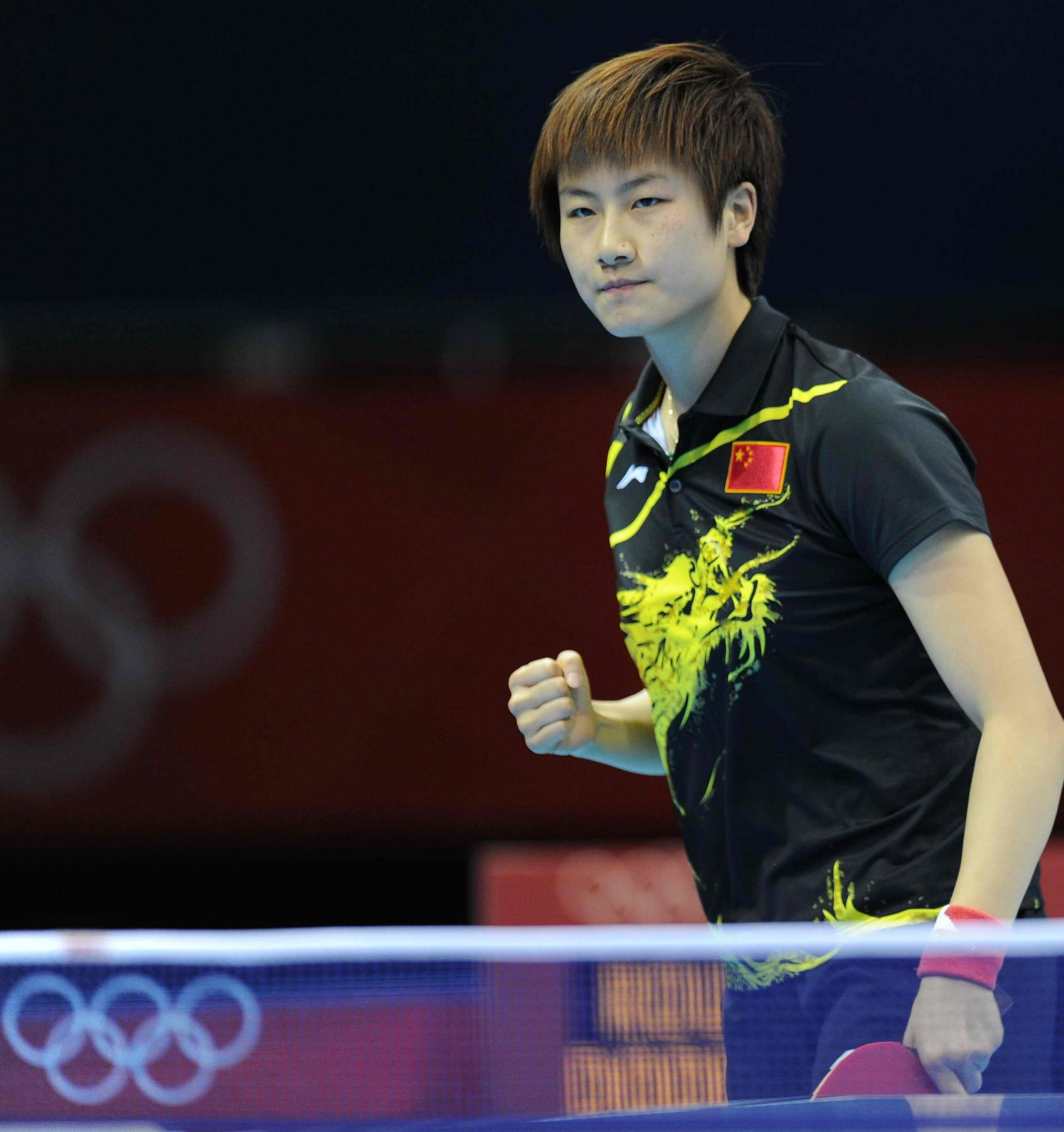 丁宁曾是中国女乒的领军人物。