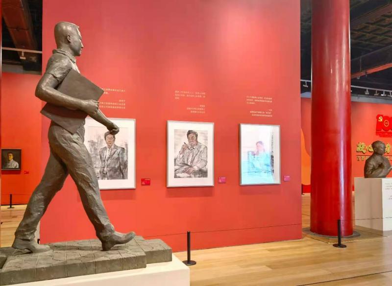 首都职工庆祝建党100周年综合展今起在太庙艺术馆开展