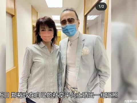 63岁郑裕玲晒老友合照,眼窝深陷显老态,84岁谢贤却像年轻人