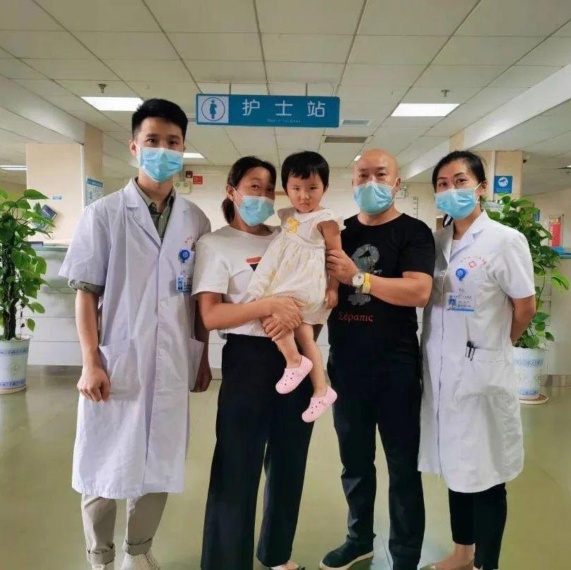启明星光——岳阳市中心医院眼科让2岁先天性白内障儿童重获光明