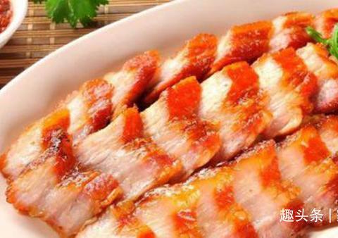 蜜汁叉烧肉,豆泡蒸肉,清炒芦笋,青蒜炒豆干的做法