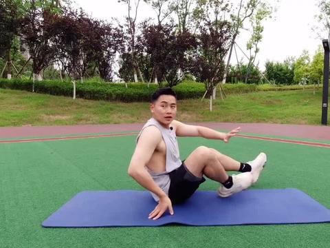 这3个动作我就练了15天,马甲线都出来了,腹部力量也增强了
