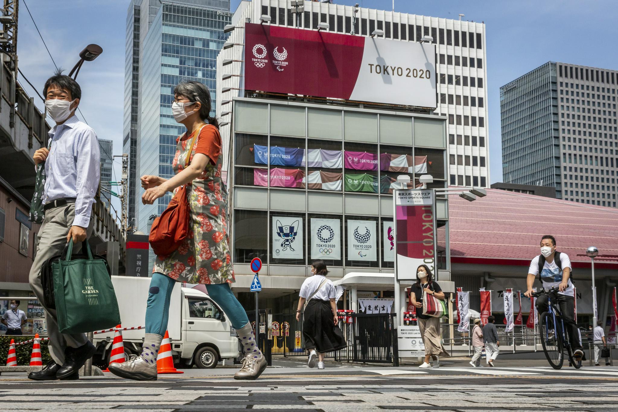 东京街头。