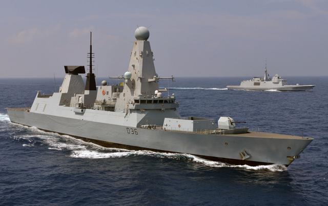 6艘中的5艘无法部署 英新型驱逐舰只剩一艘能出门