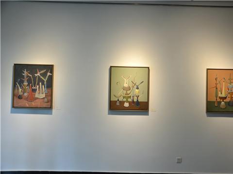 心灵的寓言——漆汉勇油画作品展在宋庄而已美术馆举行