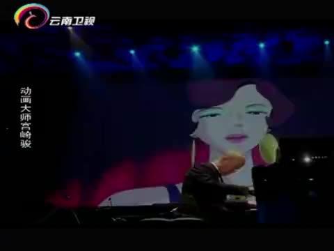 宫崎骏动画音乐会上,久石让的倾情演奏,让宫崎骏在台下激动落泪