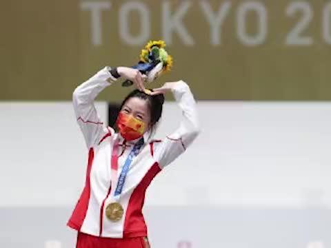 杨倩小时候气枪打娃娃让摊主求饶,首次全国赛睡着了