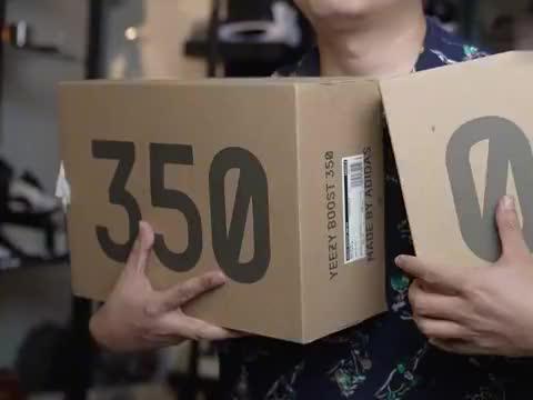adidas yeezy 350新旧两代对比