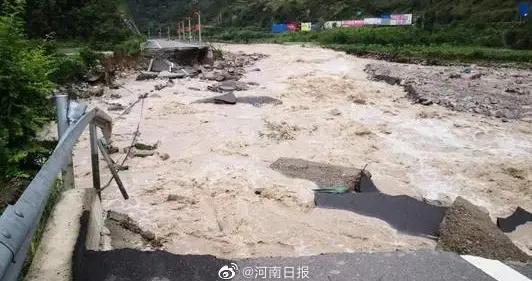 河南发布汛情预警:卫河淇门、共渠刘庄河段易出现险情