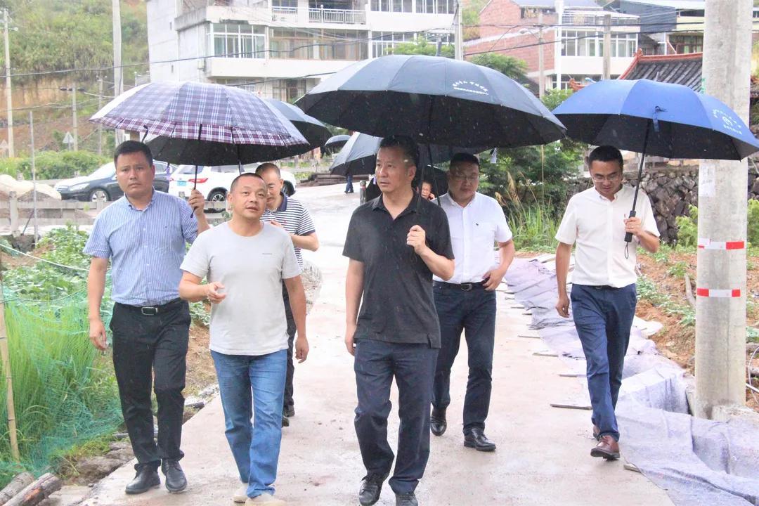"""""""一把手""""说   泰顺县委书记林万乐:做好万全准备 坚决打赢防台首战"""