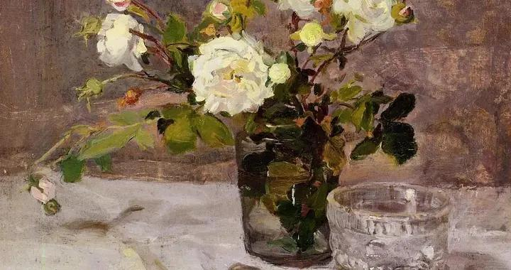 19世纪法国印象派女画家伊娃·冈萨雷斯油画作品赏析