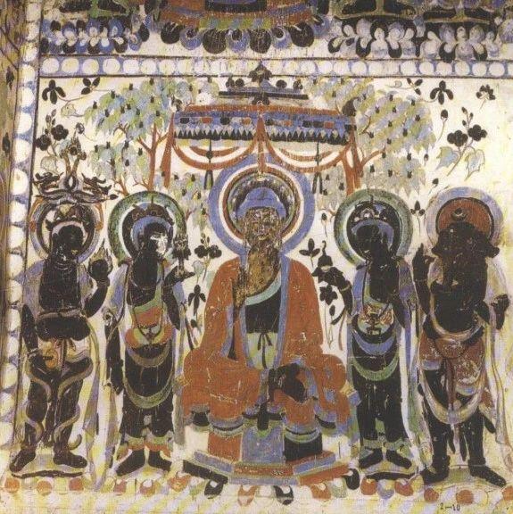 从敦煌壁画看中国的传统家具