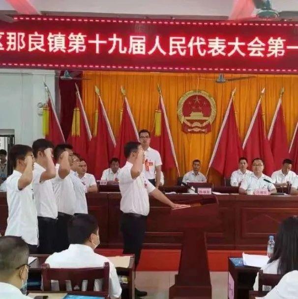 防城区各乡镇新一届人民代表大会第一次会议圆满闭幕