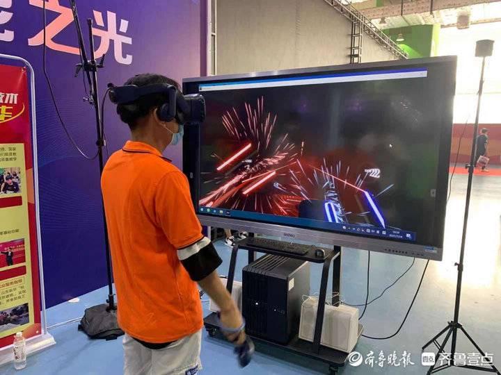 这家学院VR实训项目获奖金10万