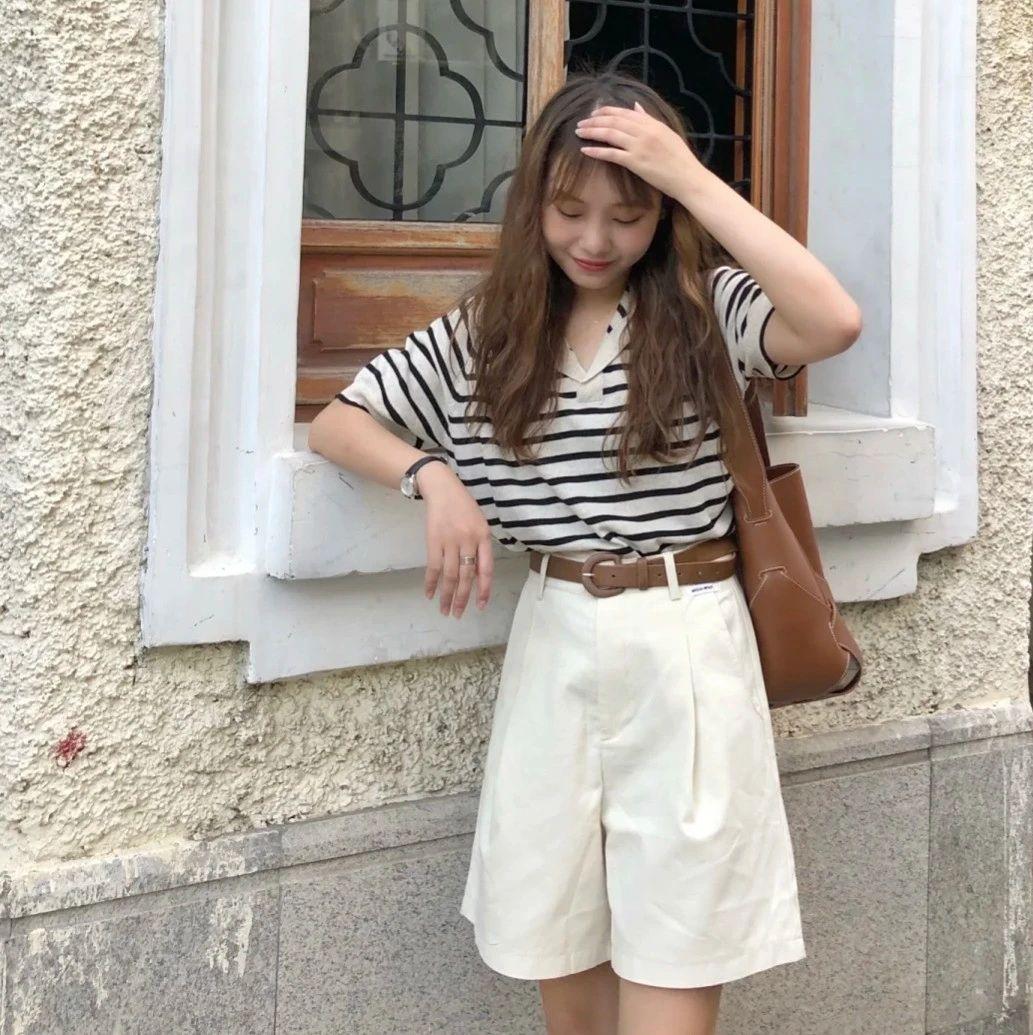 """""""超短裤""""快被抛弃了,今夏流行的是""""五分裤"""",时髦随性又显瘦"""