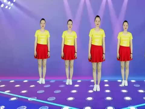动感广场舞《男人的幸福》节奏欢快舞蹈时尚,动感又瘦身!