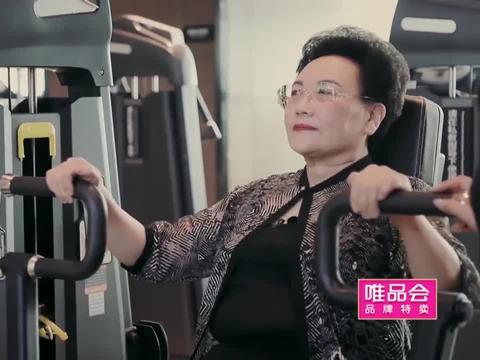 伊能静带婆婆去健身房,结果婆婆摆动了两下,就直呼太累不动了