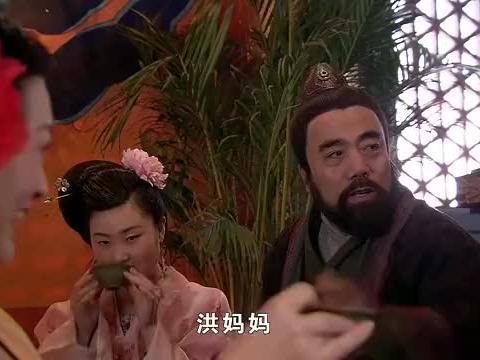 精忠岳飞:红玉姑娘出场了,众人都看呆了