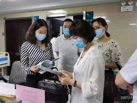 开封市人民医院迎接河南省健康促进医院创建工作评审组检查验收