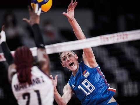 博斯科维奇狂砍28分!塞尔维亚3-0获奥运首胜,核心主攻短暂上场