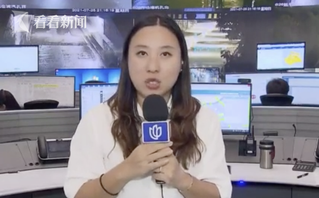 视频|上海高架出现短时积水 应急保障队伍及时处置